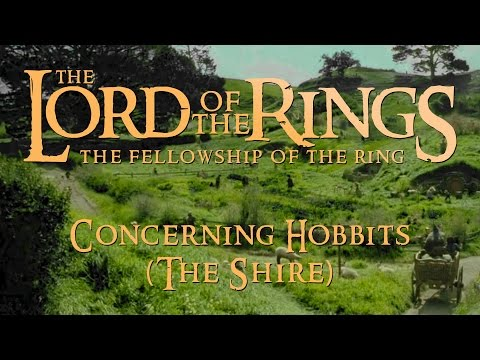 Lord of the Rings: The Fellowship of the Ring  Howard Shore  Concerning Hobbits The Shire