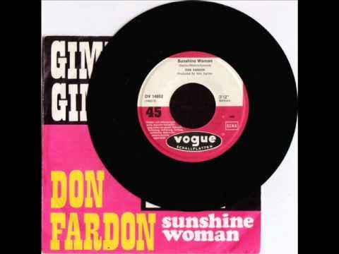Don Fardon Sunshine Woman
