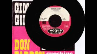 Don Fardon Sunshine Woman