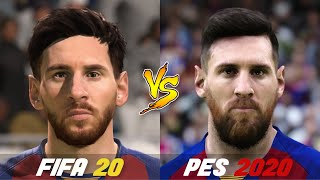 Fifa 20 does not have a lot of improvement this year in player faces and graphics. but pes 2020 still ahead has some the best faces. can we sma...