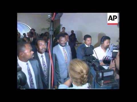 South Africa/Durban - Meeting Mandela Buthelezi