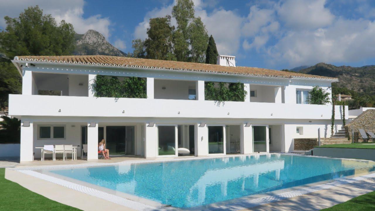 Our new spanish villa vlog youtube for Spanish villa house