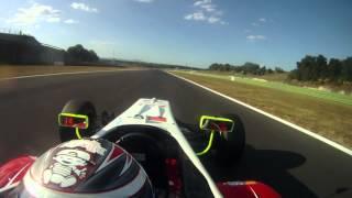 Vallelunga Formula 3 Onboard Michael Lewis 2011