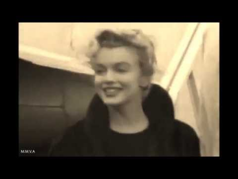 "Marilyn Monroe Coming Home Footage  - ""Nobody Is Scared Of Me!"" (Interview)"