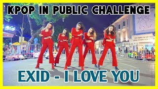 [KPOP IN PUBLIC CHALLENGE] EXID(이엑스아이디) - 알러뷰 (I LOVE YOU) | Cover by GUN Dance Team from Vietnam