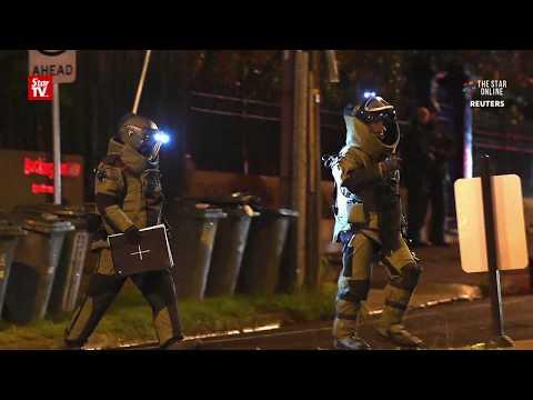 Australia police shoot hostage taker dead, woman rescued