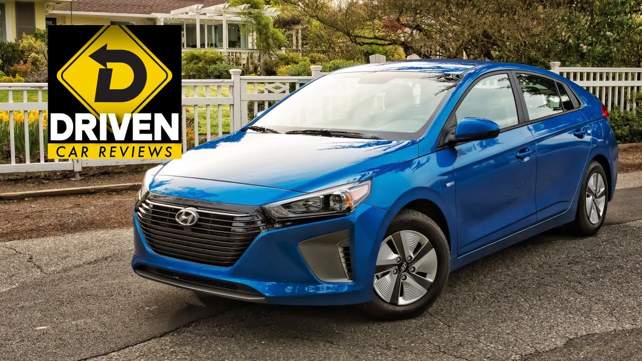 2017 Hyundai Ioniq Electric And Hybrid Blue Car Review