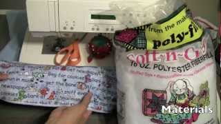 How To Sew A Dog / Cat / Pet Bed - Sewing Craft