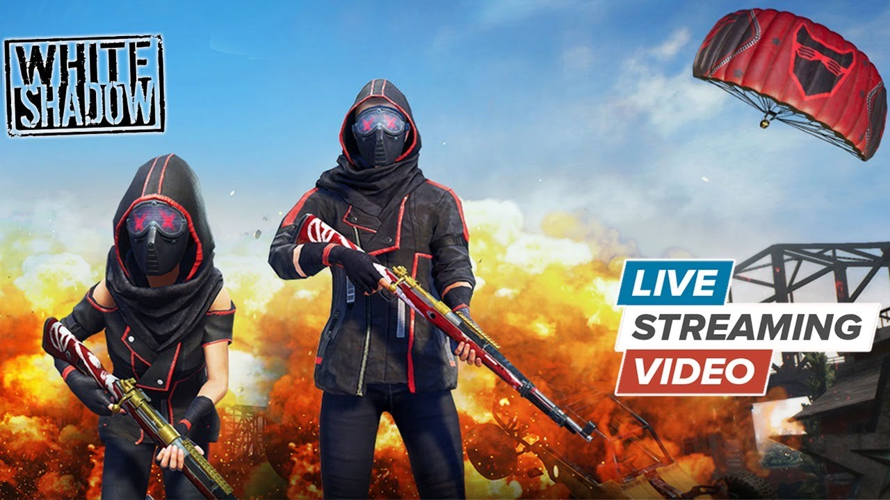 WHITE  SHADOW is [ LIVE ] ON PUBG MOBILE - Asus ROG Phone 2
