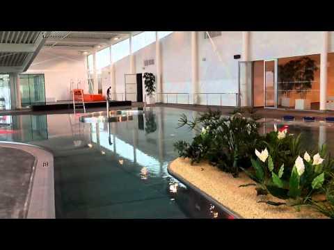 AquaVita la nouvelle piscine aqualudique dAngers  YouTube