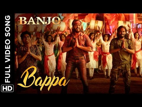 Bappa (Full Video Song) Banjo | Riteish Deshmukh & Nargis Fakhri