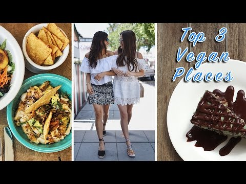 TOP 3 VEGAN PLACES | San Diego, CA