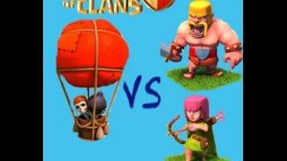 NADIE TOCA MI AYUNTAMIENTO 3 || GLOBOS 3 || Clash Of Clans