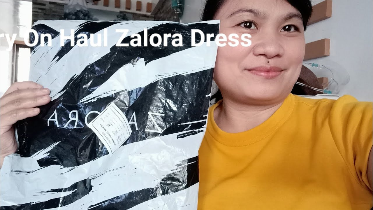 #zalora Try on haul Dress and Review