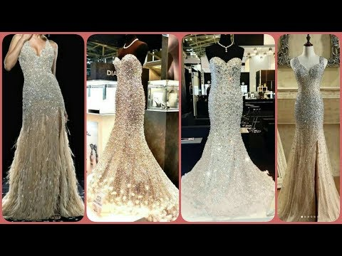 gorgeous-sequince-work-beaded-&-lace-applique-party-wear-evening-gowns-mermaid-dress-ideas
