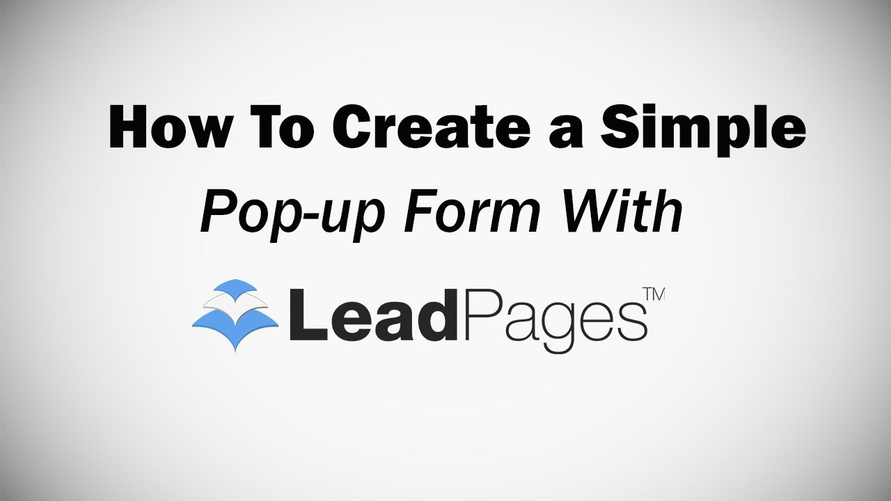 The Buzz on Leadpages Popup