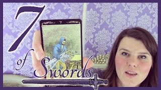 7 Seven of Swords Tarot Card Meaning Upright & Reversed