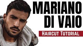 Mariano Di Vaio Haircut Tutorial - TheSalonGuy