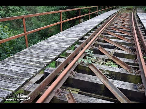 Lost Places & Bunker: Hunsrückquerbahn / Zugbrücke l Urban exploration