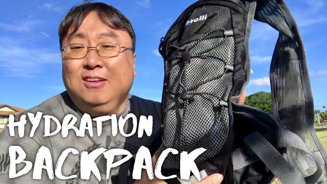 35c6b984ea 2L Hydration Backpack with Bladder and High Flow Bite Valve by Vibrelli  Review
