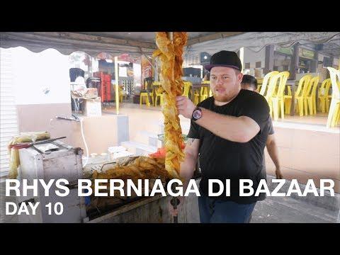 Rhys Berniaga di Bazar Ramadan