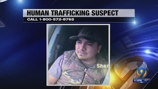 Man on the run after 6 human trafficking victims found in car, troopers say