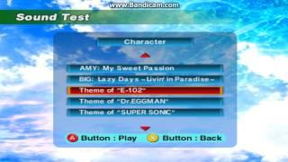 Sonic Adventure - E-102 Theme - User video