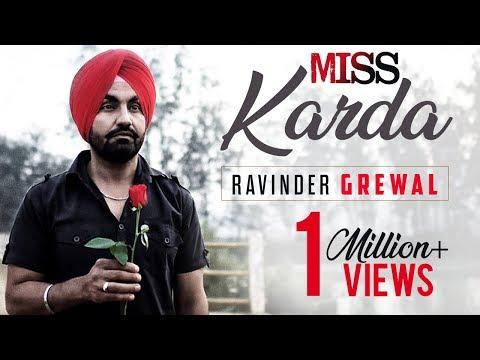 MISS KARDA | RAVINDER GREWAL | Video Song | Latest Punjabi Songs | Tedi Pag Records