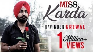 MISS KARDA | RAVINDER GREWAL | Latest Punjabi Songs 2016