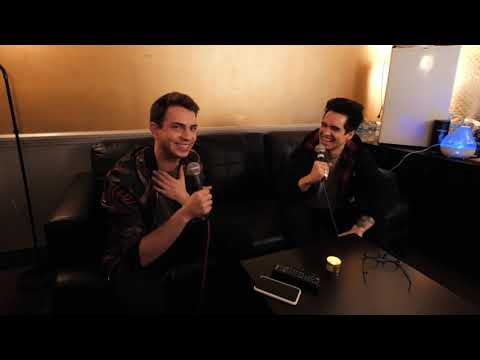 Brendon Urie on working with 5SOS, binging Panic! at the Disco, Celine Dion and more Mp3