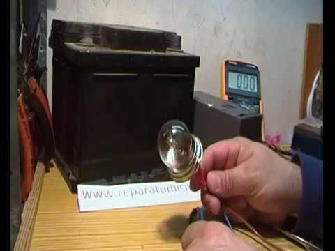 Como medir la carga de una pila o bateria 2016 checar - Como saber si un coche tiene cargas ...