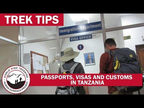 Tanzania Airport: Passports, Visas, And Customs For Kilimanjaro Climb And Safari | Trek Tips