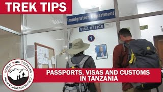 Tanzania Airport: Passports, Visas, and Customs for Kilimanjaro Climb and Safari | Trek Tips