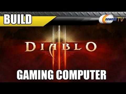 Newegg TV: Gabe's Diablo III Gaming Computer Build - GTX 670, i5 3570K, Z77