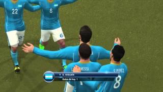 Humillando a Bravo 2. PES 2015 gol de Messi