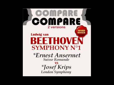 Beethoven - Symphony No. 1 in C Major - LSO - Josef Krips 448 Hz