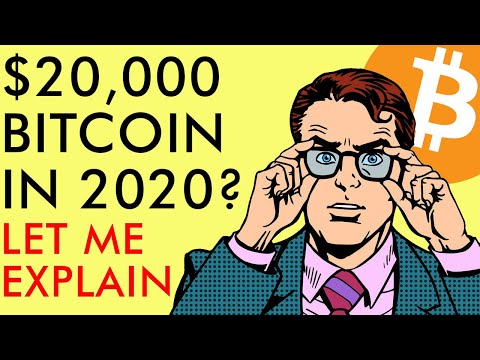 BITCOIN TO $20,000 IN 2020? Price Prediction Explained!