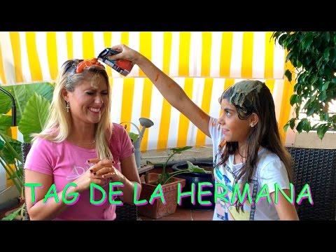TAG DE LA HERMANA /RETO DE PREGUNTAS - LA DIVERSION DE MARTINA