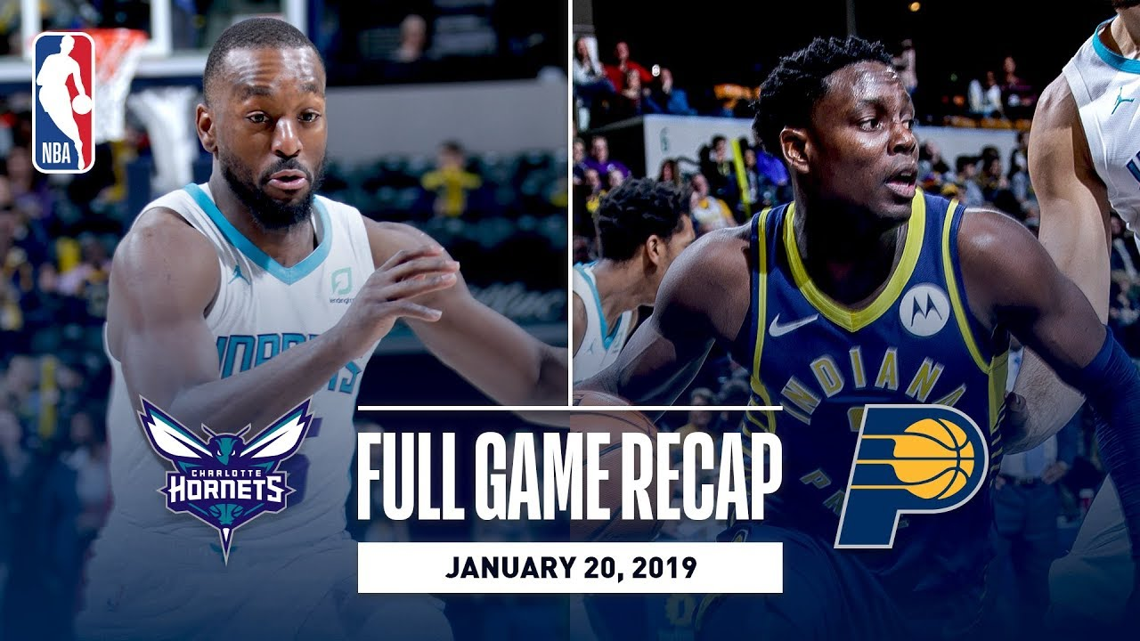 Full Game Recap: Hornets vs Pacers | Collison & Oladipo Lead Team Effort
