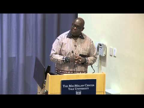 The Coca-Cola Lecture at Yale presents John Githongo, CEO, Inuka Kenya Trust