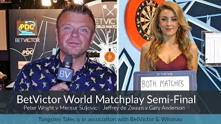 World Matchplay Semi-Final Preview with Chris Mason + Katie's Delicious Double