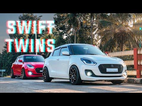 Swift Twins 🔥   2019 Maruti Suzuki Swift Modified   Cinematic Video