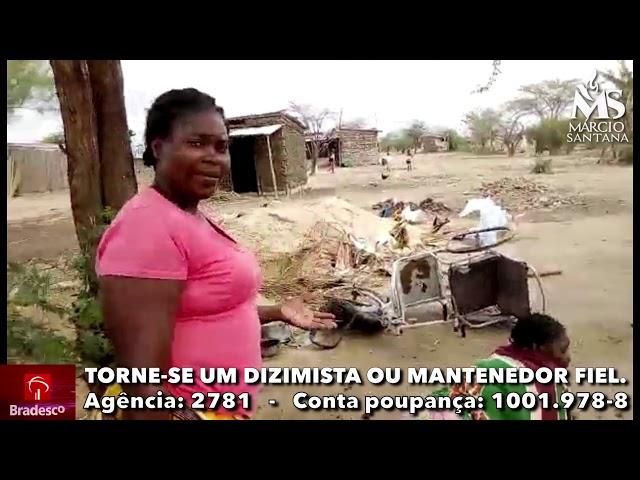 Paralítica com bebê de 3 meses abandona pelo marido passando fome na África