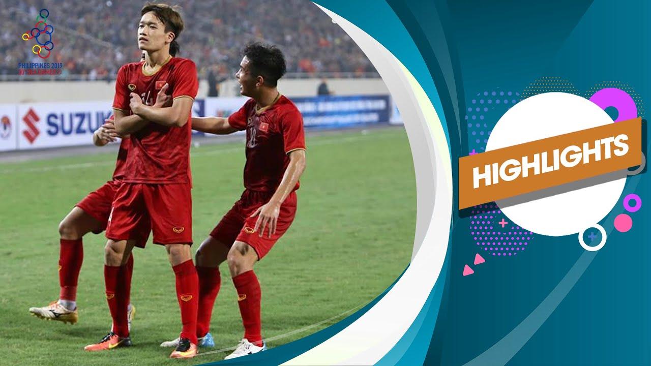 Xem lại U22 Việt Nam vs U22 Indonesia, SEA Games 30 1/12/2019