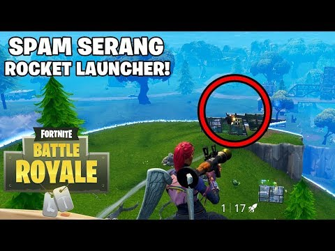 SPAM SERANG PAKE ROCKET! - Fortnite: Battle Royale (Indonesia)