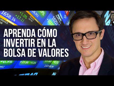 Aprenda cómo invertir en la Bolsa de Valores