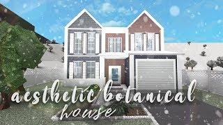 Roblox | Bloxburg: Aesthetic Botanical Home | Speedbuild