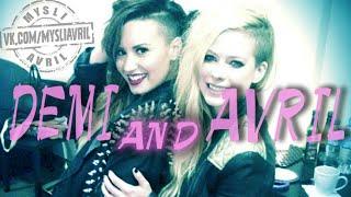 Avril Lavigne vs Demi Lovato on the car.