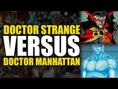 Marvel vs DC: Classic Doctor Strange vs Doctor Manhattan