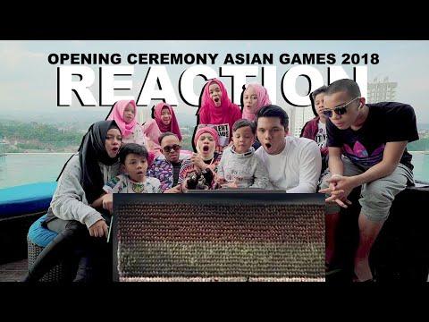Gokil Sampe Merinding!! Gen Halilintar React Tari Ratoh Jaroe, Pak Jokowi   Asian Games 2018